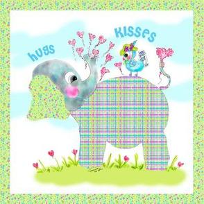 Mademoiselle Tweet loves Henri the Elephant
