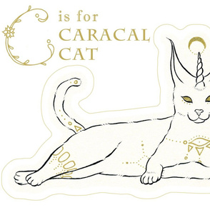 Fantastical Caracal Cat plush