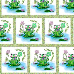Francine La Froggie by Rosanna Hope for Babybonbons