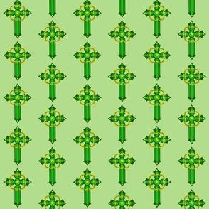 Legendary Cross Brigids Mantle Lt Green