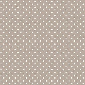 woodland polkadot on grey
