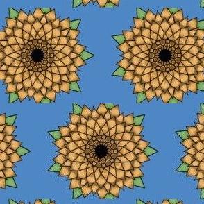 Pointy Sunflower