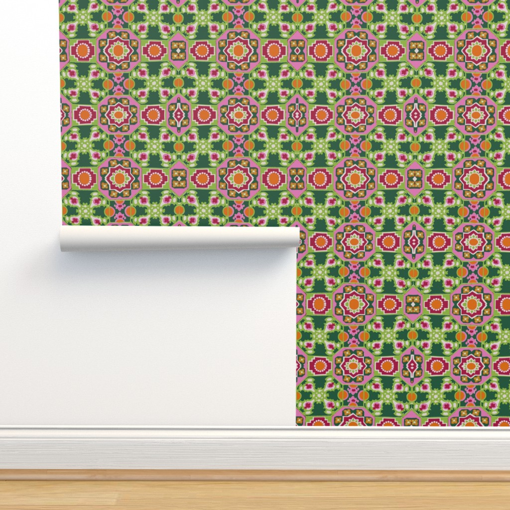 Isobar Durable Wallpaper featuring wow original retro by snork