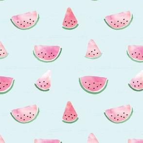 Watercolored Watermelon