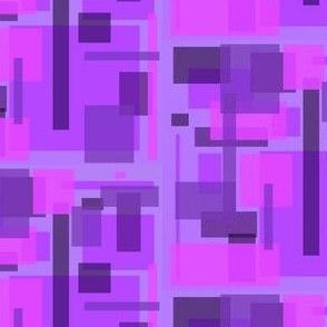 mod purple pink