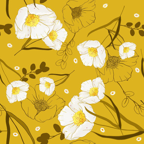 Trendy botanical print