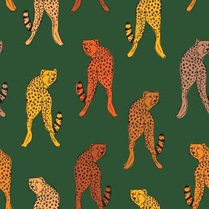 Cheetah jungle green