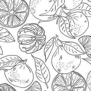 Tangerins white