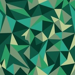 Emerald Origami