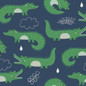 cute alligators