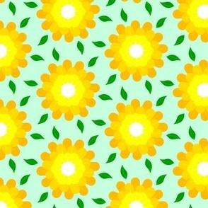 Orange Glow Carnation Floral Spring Time Design