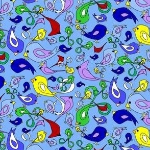 Alpacas Green Star Fabric With White Background