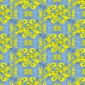 Alpacas Green Star Fabric With Red, White and Green Background