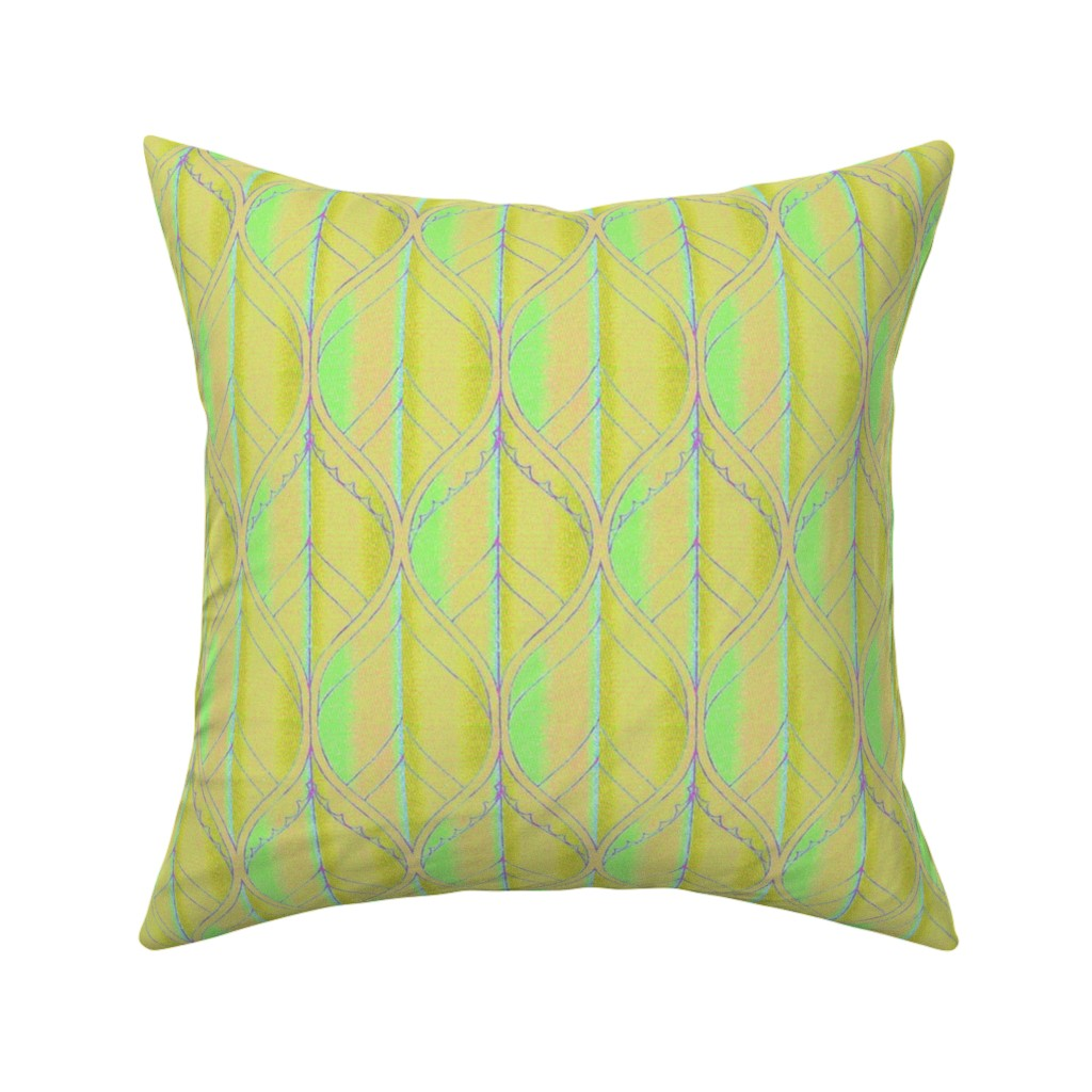 Catalan Throw Pillow featuring moyen age 502 by hypersphere