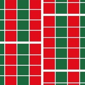 Red Green Christmas Stripes