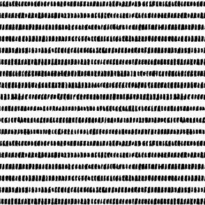 Lines Interrupted (black on white)
