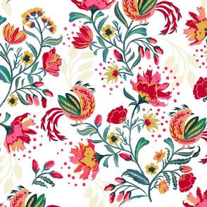 Scandinavian Festive Floral