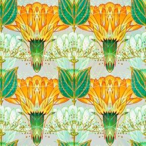 Nouveau Thistle Orange