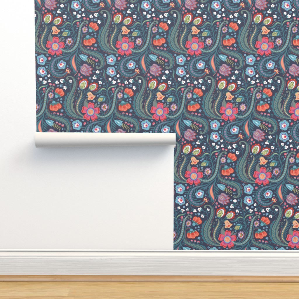 Isobar Durable Wallpaper featuring Skandelska by kokara
