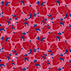 You Have My Heart (Red and Pink)