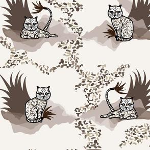 Leocat Animal Print Large