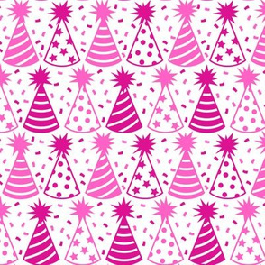 And Here is Your Party Hat (Pink and White)