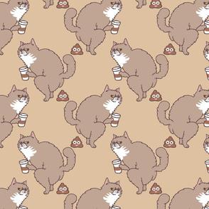 Coffee Makes Cat Poop