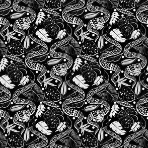 Tribal Black Mambas - Black (Small version)