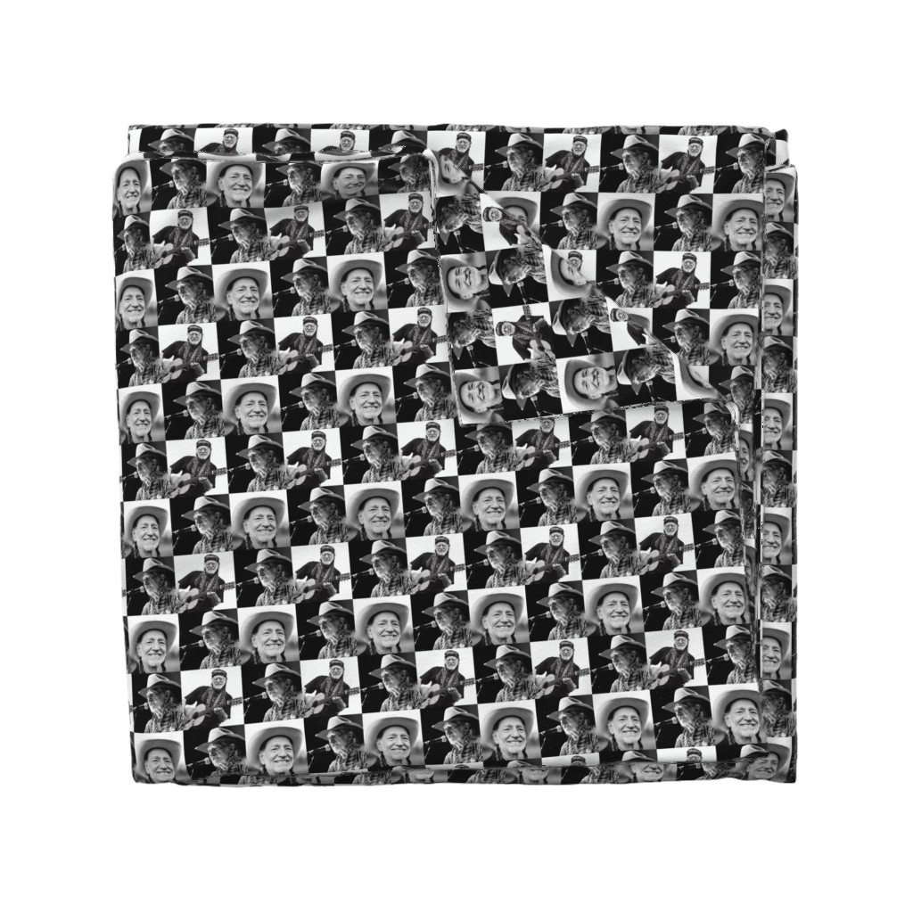Wyandotte Duvet Cover featuring Willie by jmcater