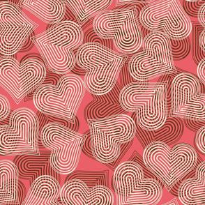 chocolate-strawberry hearts