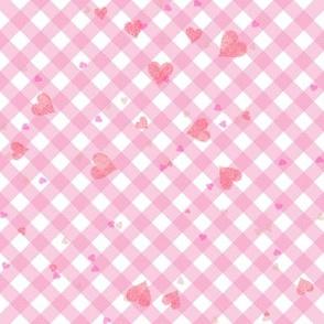 Valentine Gingham