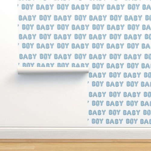 Baby Boy Balloon Fabric Baby Boy Expe Spoonflower