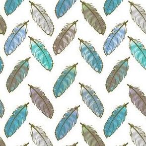 Zigzag Feathers