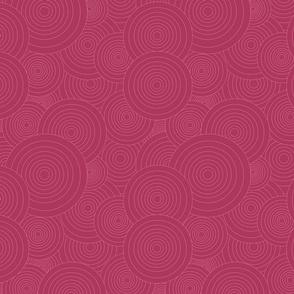 Pink Collection Concentric Circles