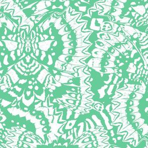Butterfly Kaleidoscope (Mint Green)