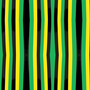 Green,Yellow and Black