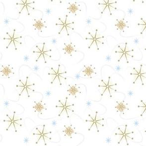 Retro Starburst on White