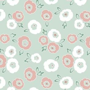 Rodney - Pastel Stylized Floral by WRKDesigns