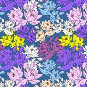 Celia Waterlilies New Fabric