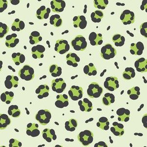 Rex - Leopard Print in Lime Green by WRKDesigns