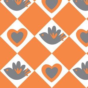 Bird and Heart
