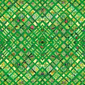 Emerald Isle:  Diamond Plaid