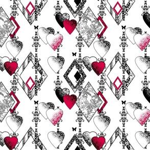 Patchwork, love, Valentine's day