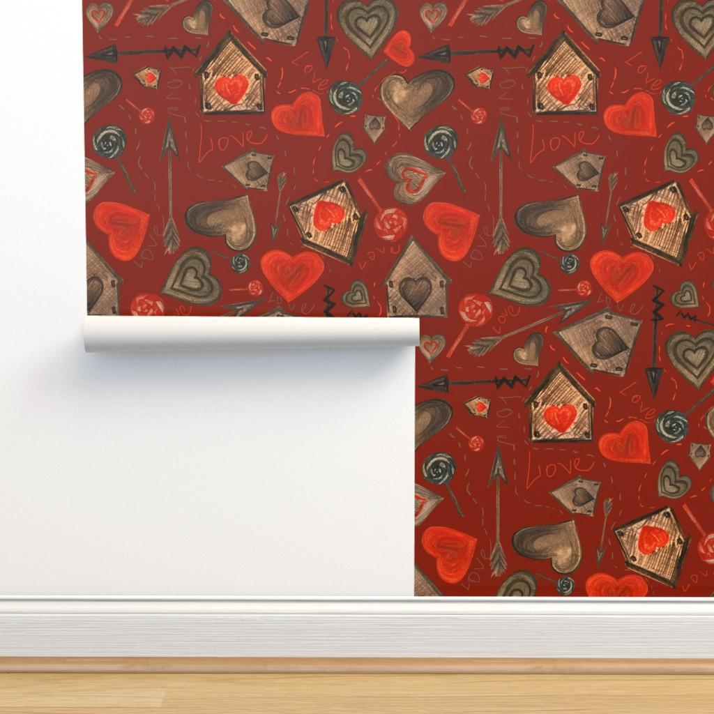 Isobar Durable Wallpaper featuring love3 by avot_art