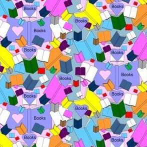 We Love Books Fabric  6