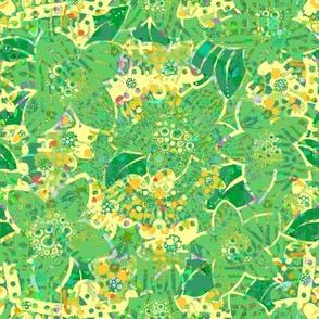 Emerald Isle: Trellis Flowers