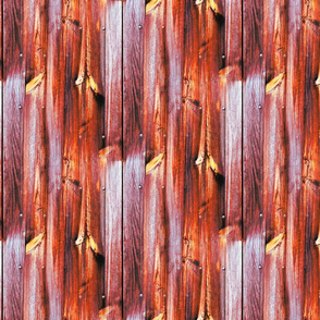 Planches de bois rouge - Wood boards red