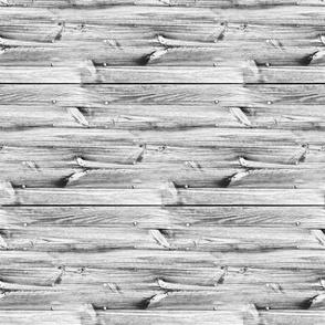 Planches de bois gris - Wood boards grey (horizontal)