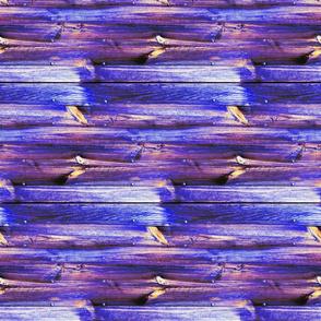 Planches de bois bleu - Wood boards blue (horizontal)