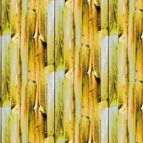 Planches de bois jaune - Wood boards yellow